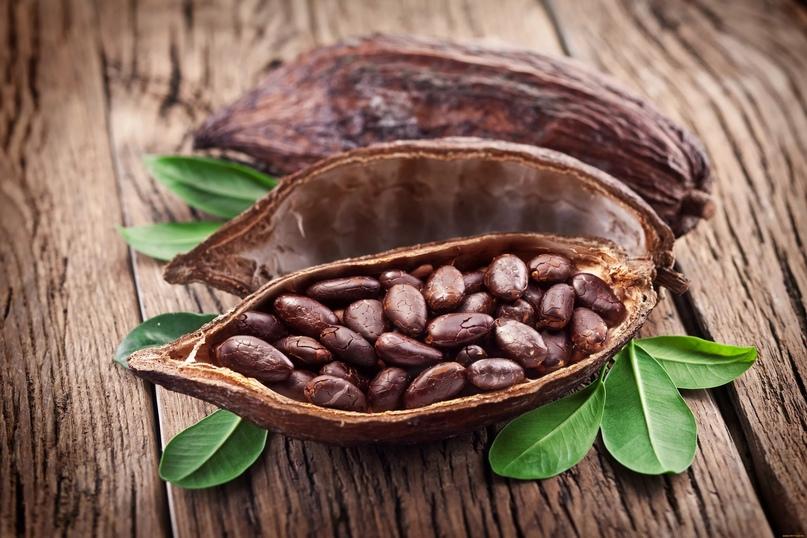Полезные свойства какао-бобов 🌿