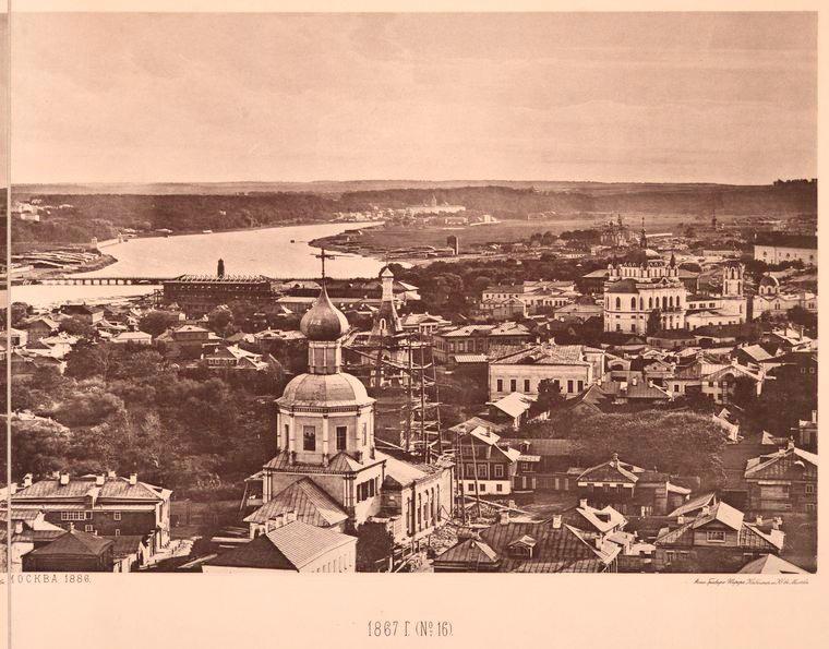 Москва без людей в 1867 году. Где все люди?, изображение №28