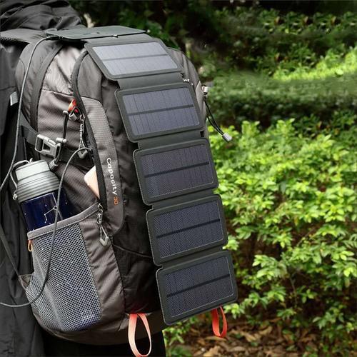 Зарядка на солнечных батареях -