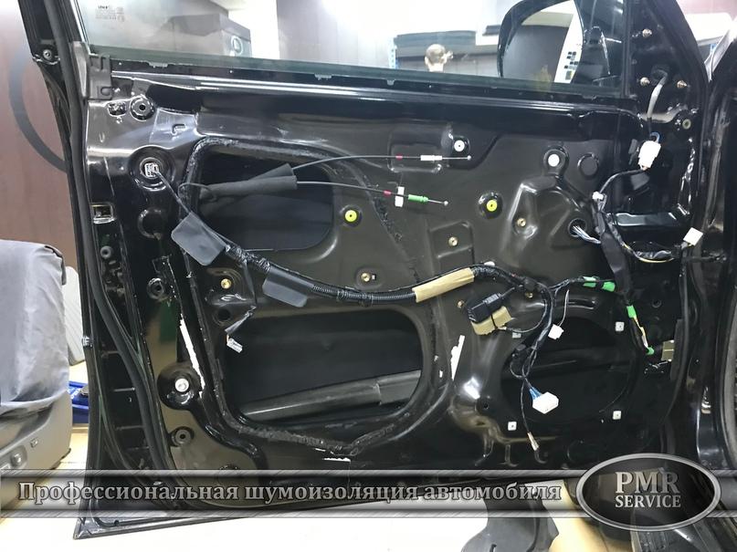 Комплексная шумоизоляция Toyota Land Cruiser 120, изображение №7