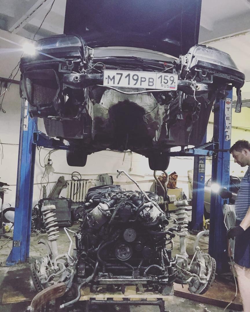 BMW X6 n63b44 капитальный ремонт двигателя