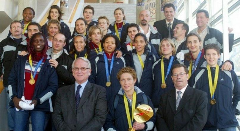 Сборная Франции, 2003 г.