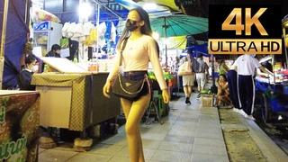 Pattaya 4K Walk Soi Made in Thailand, Soi Bua Khao, Treetown, 2021 Apr 7th.