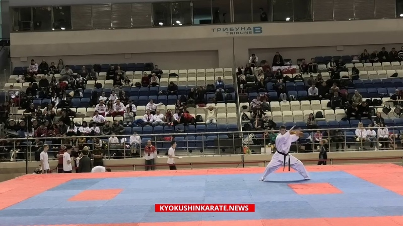 2019 European Kata Cup 2019, kata champion - Aleksei Galinov (Russia)