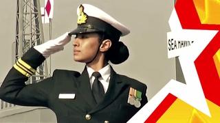 ЖЕНСКИЕ ВОЙСКА ИНДИИ   भारतीय महिला सैनिक   WOMEN'S TROOPS of India. Republic Day Parade - 2021