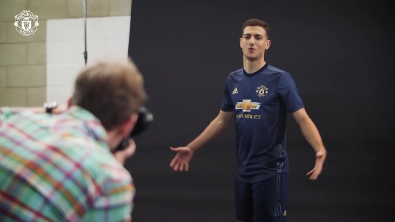 Behind The Scenes At Diogo Dalots First Day At Manchester United