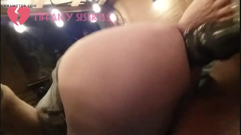 sissy takes huge late night anal