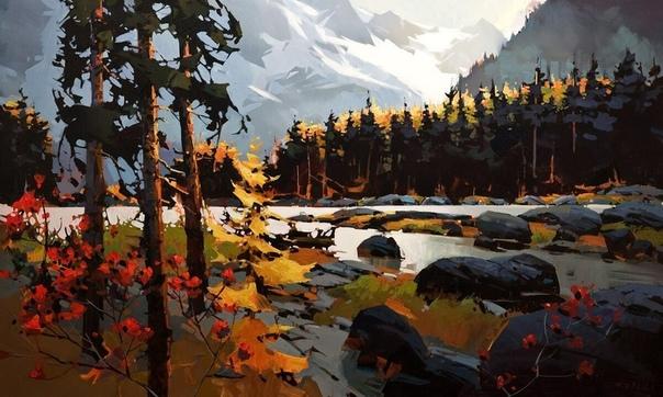 Майкл О'Тул (Michael O'Toole) - 55-летний художник родом из Ванкувера, Канада.