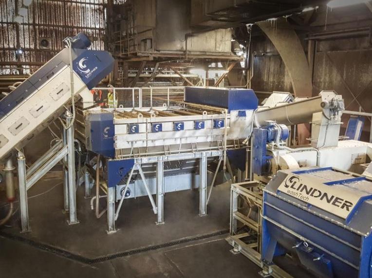 Lindner Washtech: CeDo выбирает технологию мойки Lindner для производства высококачественного измельченного материала, изображение №1