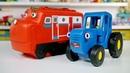 Поиграем в Синий трактор - Паровозики Чаггингтона едут к врачу делать прививки - Поиграйка для детей