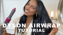 My go-to hairstyles using the Dyson Airwrap