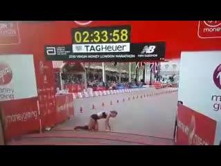 Лондонский марафон. Самый жёсткий финиш ()