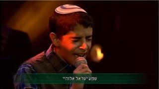 TRY NOT TO CRY: Uziya Tzadok Sings Shema Yisrael - עוזיה צדוק שר שמע ישראל