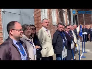 Открытие Межрегиональных соревнований профессионального мастерства в Вологде