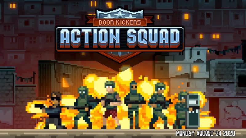 Door Kickers Action Squad - Tinytanic DoorKickersActionSquad RichardOnRetro