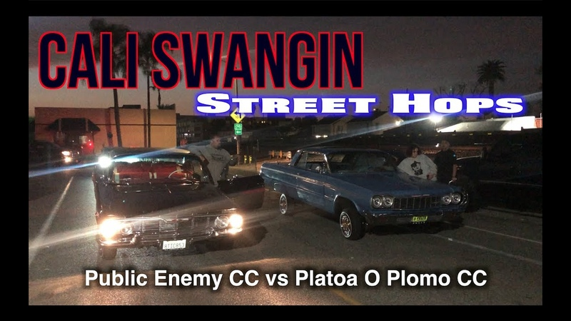 Cali Swangin Street Hops Public Enemy vs Plata O Plomo
