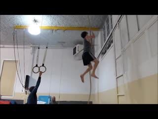 Gymnastics challenge of the day noah spriggs