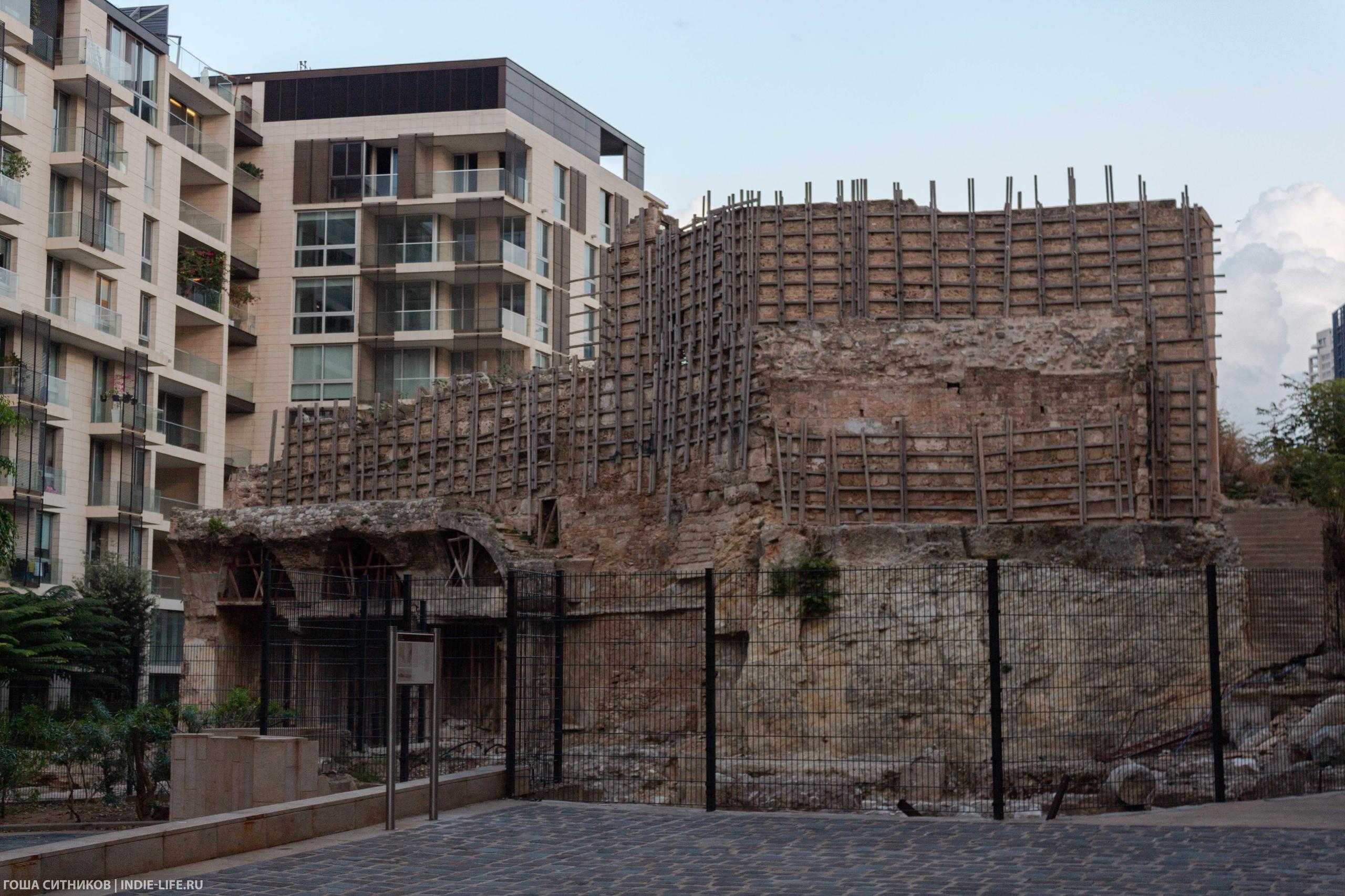 Бейрут крепость 8 века