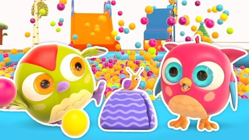 Çocuklar için çizgi film Baykuş Hop Hop ile zıtları öğrenelim Bebek şarkıları