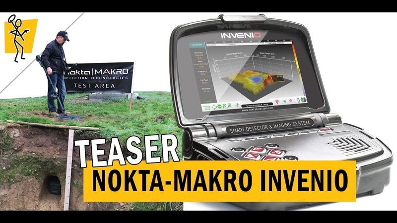 Détecteur Nokta-Makro INVENIO : analyse des formes et profondeur.