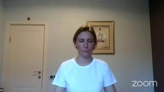 Медитация на дыхание и открытую осознанность  с инструктором Ириной Кузнецовой (15 минут)