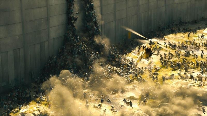 Зомби лезут на стену Зомби в городе ► Война Миров Z