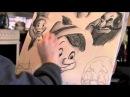 Drawing Pinocchio 1940