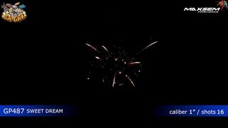 Фейерверк GP487 Сладкий сон / Sweet dream (1