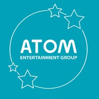 Логотип Atom entertainment: концертное агентство