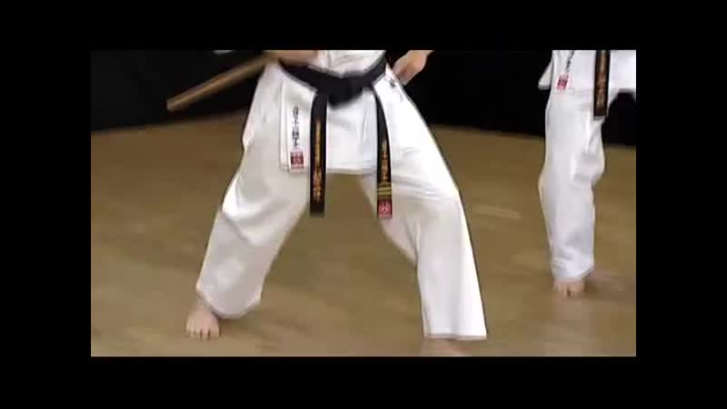 06 Ido Kihon Bo Объяснение
