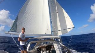 Sailing Jamaica to Cayman - Lively Sailing - Hallberg-Rassy 54 Cloudy Bay -  Mar 2020. Season20 Ep17