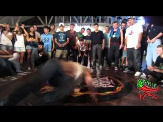 Yu Rock - Burn Battle School 2013 - отбор Break dance pro 1x1