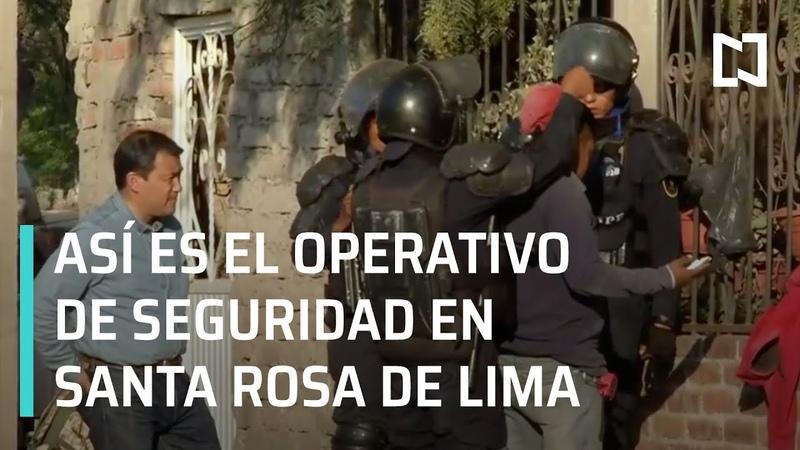 Operativo en Santa Rosa de Lima; continúan Fuerzas Federales - En Punto con Denise Maerker