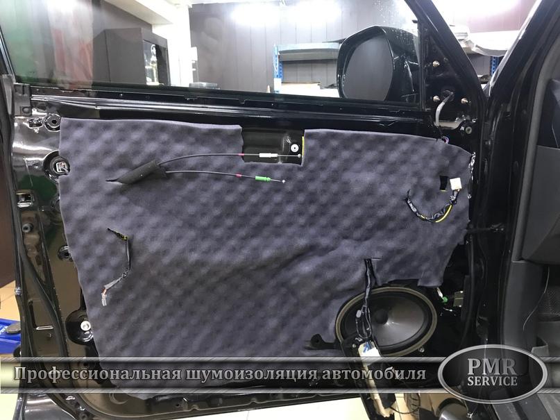 Комплексная шумоизоляция Toyota Land Cruiser 120, изображение №11