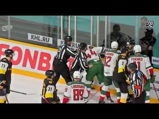 KHL Fight: Vovchenko VS Yudin