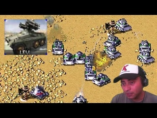 I use only IFV in 4 vs 4 battle Command & Conquer Red Alert 2 Yuri's Revenge Online Multiplayer