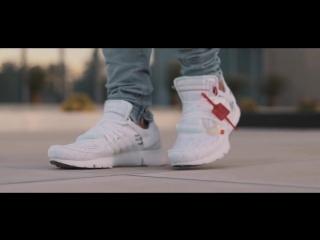 Off-white x nike air presto white (on foot)
