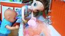 А ТЫ ПОПРОБУЙ НАЙДИ! Челлендж ванна с Джелли Баф! Катя и Макс веселая семейка смешной сериал куклы
