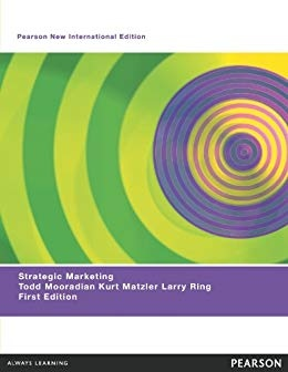Strategic Marketing, Pearson New International Edition