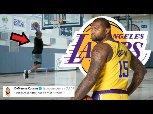 Demarcus Cousins NEW Workout Footage After Los Angeles Lakers 2020 NBA Championship Lebron James