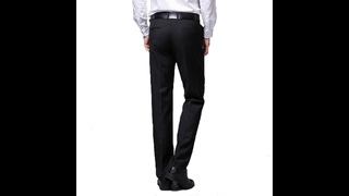 Мужской костюм, брюки, летние мужские модельные брюки, прямые деловые мужские официальные брюки, большие размеры, классические