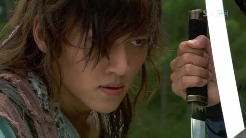 Эпизод из дорамы Воин Пэк Тон Су 15 серия Как бы вы не дрались вы друзья на века