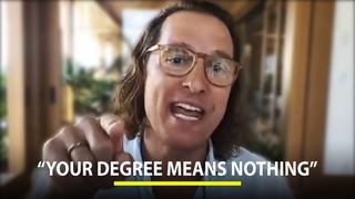 Matthew McConaughey on The Education System