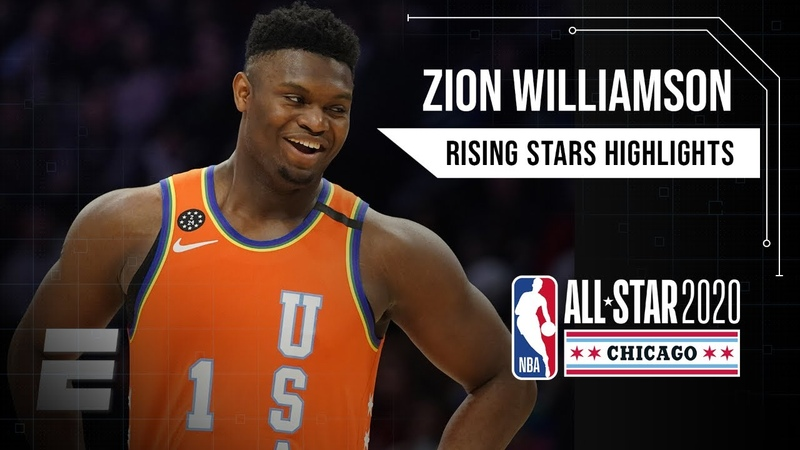 Zion Williamson, Ja Morant put on a show for Team USA in Rising Stars game   2019-20 NBA Highlights