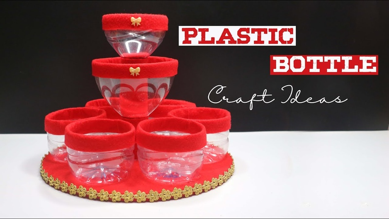Plastic Bottle Craft Ideas Best Out of waste water bottle Ide kreatif Botol plastik bekas aqua