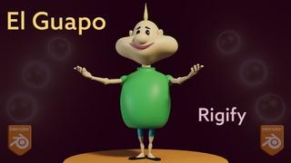 El Guapo - Animation Rig for Blender