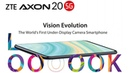 ZTE Axon 20 | Under-Display Camera | Snapdragon 765G, Android 10.0