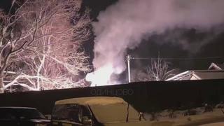 В Одинцово взорвался трансформатор