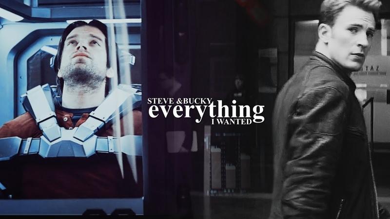 Steve bucky | everything i wanted (hbd Bethany♡)