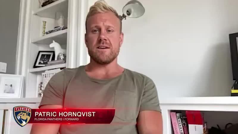 Первое интервью Патрика Хёрнквиста в качестве игрока Флориды